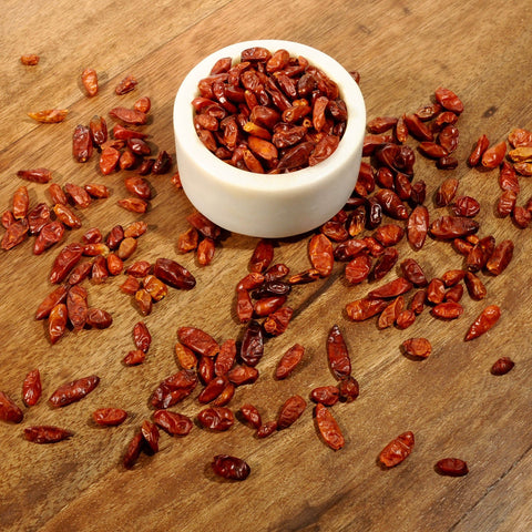 Pequin Chile Peppers - Dried-Ingredients-SKORDO