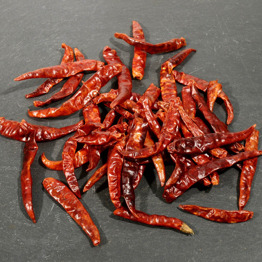 Thai Chile Peppers - Dried-Ingredients-SKORDO