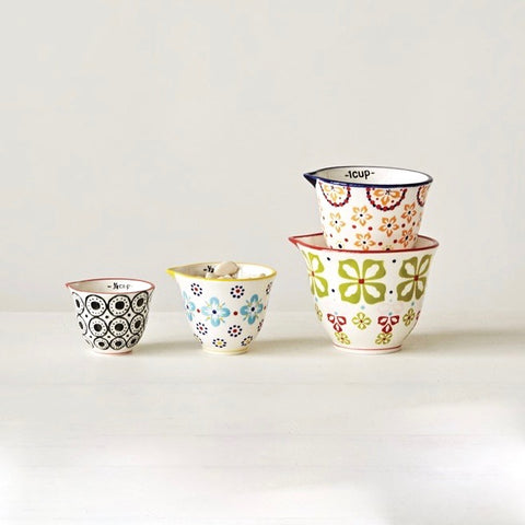 Floral Measuring Cups