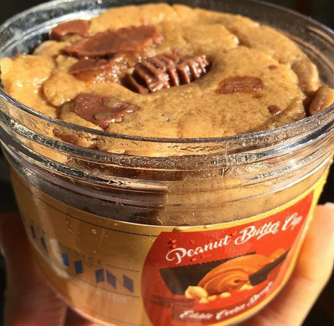 Peanut Butter Cup Edible Cookie Dough