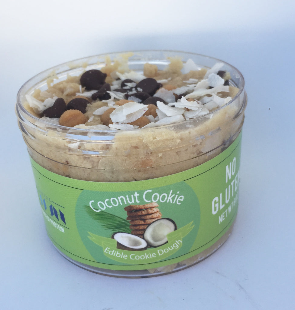 Coconut Cookie Edible Cookie Dough