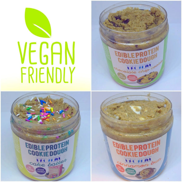 VEGAN Edible Protein Cookie Dough Multi Pack