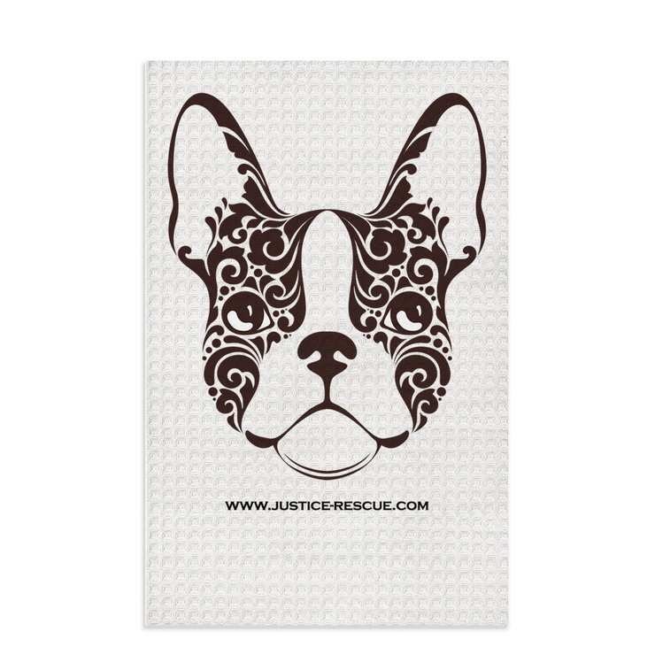Frenchie Dish Towels