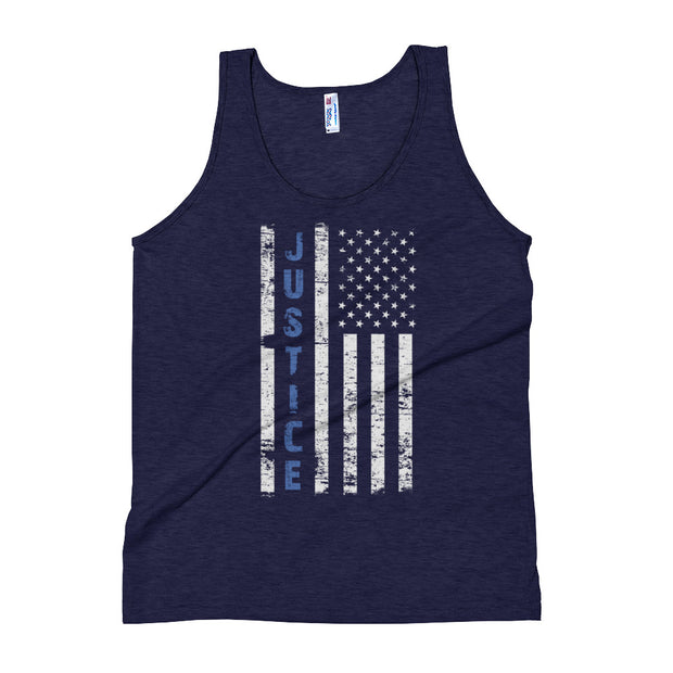 """Justice Flag"" Unisex Tank Top"