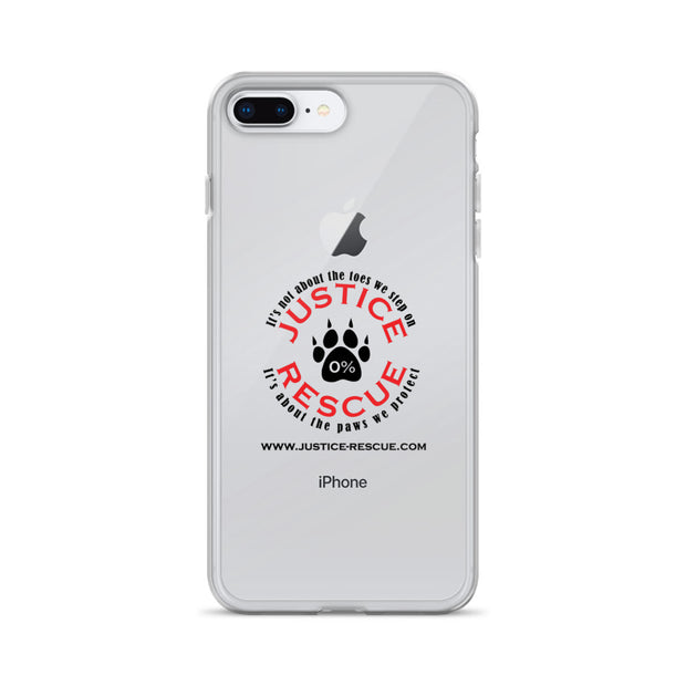 """Classic Justice Rescue"" iPhone Case"
