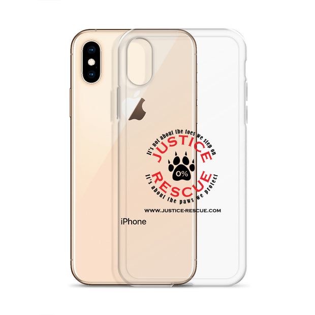 Justice Rescue iPhone X Case / Color
