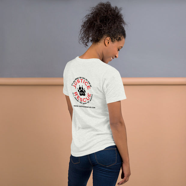 """Born To Be A Dog Mom"" Short-Sleeve Unisex T-Shirt"