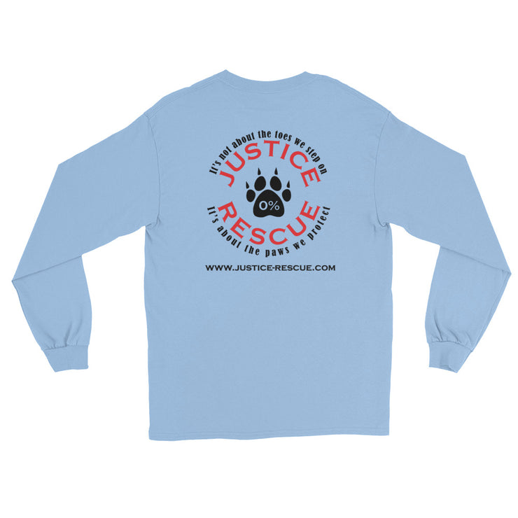 """Adopt"" Unisex Long Sleeve T-Shirt - Multiple Colors"