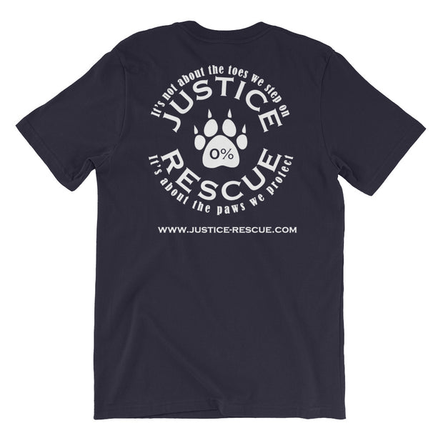"""Protecting Paws"" Short-Sleeve Unisex T-Shirt - Multiple Colors Available"