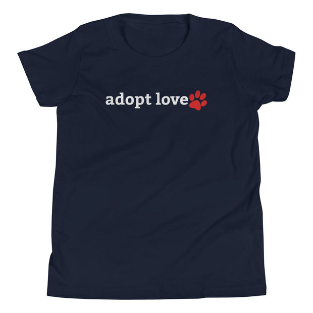 Adopt Love Youth Short Sleeve T-Shirt