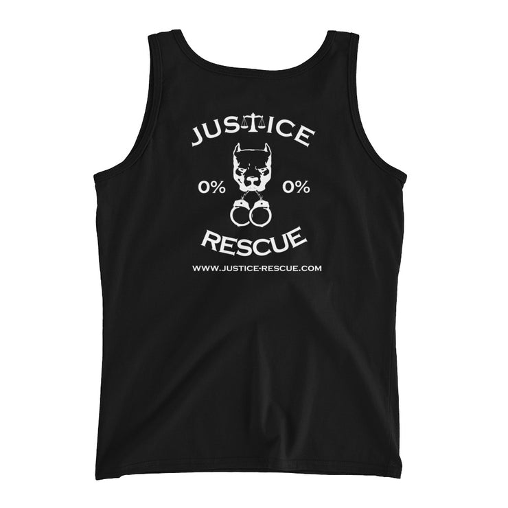 """Rescued Is My Favorite Breed"" Ladies' Tank"