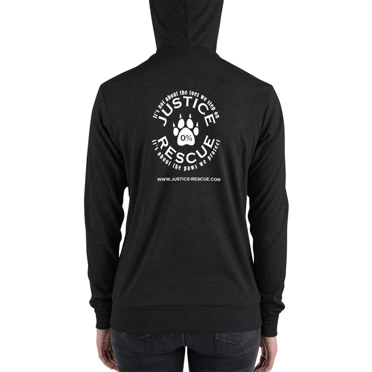 My Heart Belongs To My Dog Unisex zip hoodie