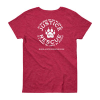 """Adopt, Rescue, Love, Repeat"" Women's short sleeve t-shirt - Multiple Colors"