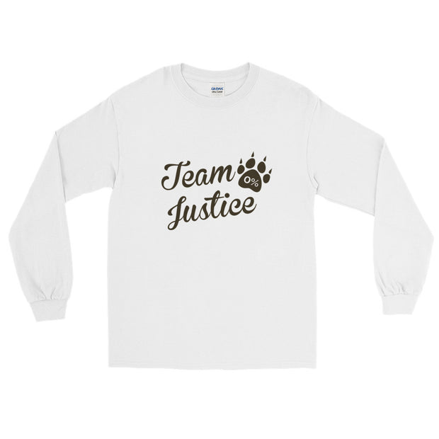 """Team Justice"" Long Sleeve Unisex T-Shirt"