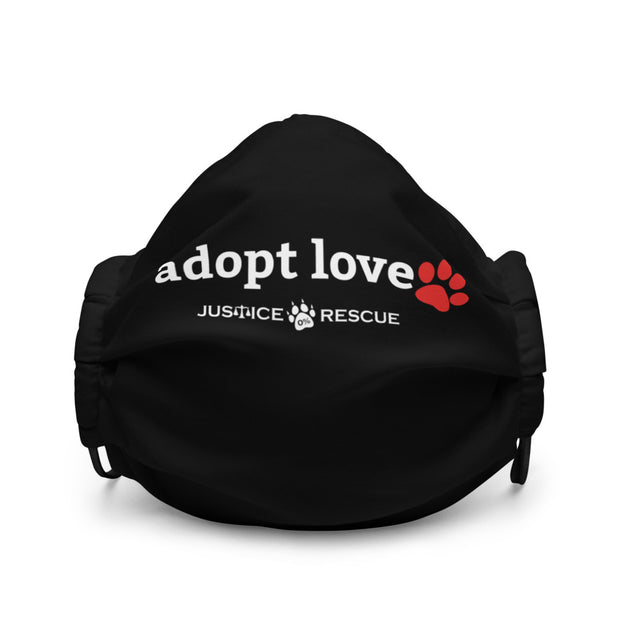 Adopt Love Premium Face Mask