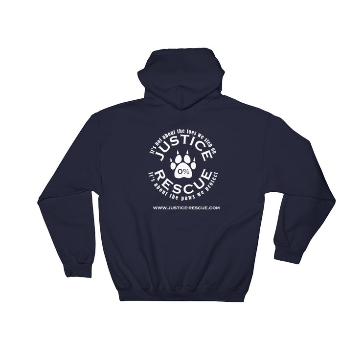 """Adopt, Save A Life"" Hooded Sweatshirt - Multiple Colors"