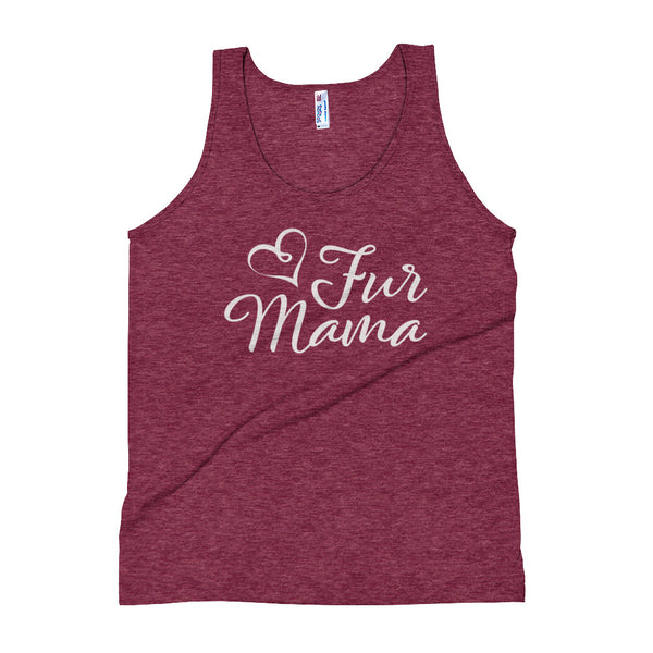 """Fur Mama"" Unisex Tank Top - Multiple Colors Available"