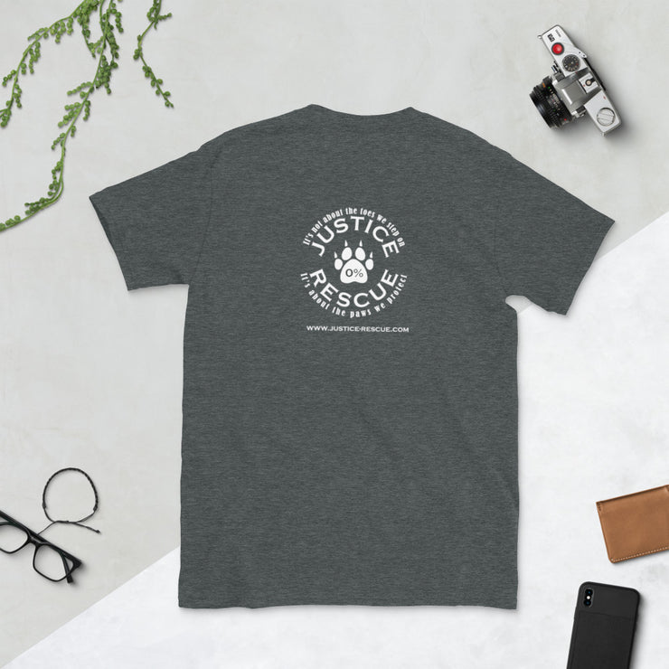 Dog Mother, Wine Lover Short-Sleeve Unisex T-Shirt