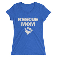 """Rescue Mom"" Ladies' short sleeve t-shirt"