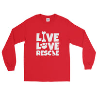 """Live Love Rescue"" Long Sleeve Unisex T-Shirt"