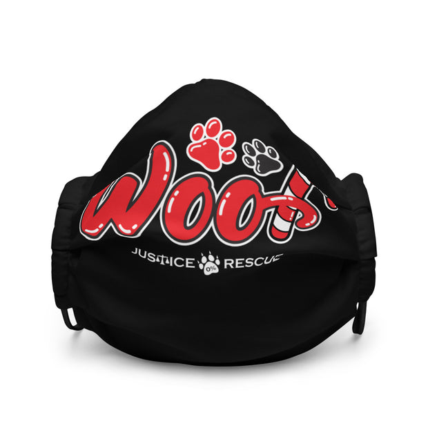 WOOF Premium face mask - Black