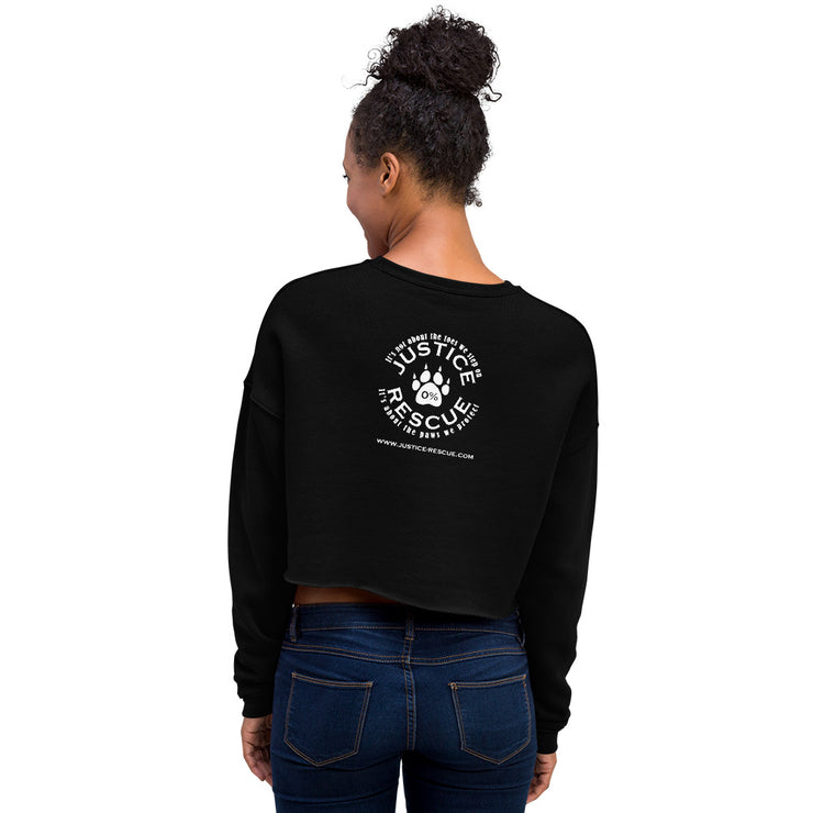 Rescue Mom Crop Sweatshirt
