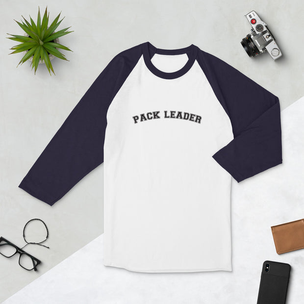 Pack Leader 3/4 sleeve raglan shirt