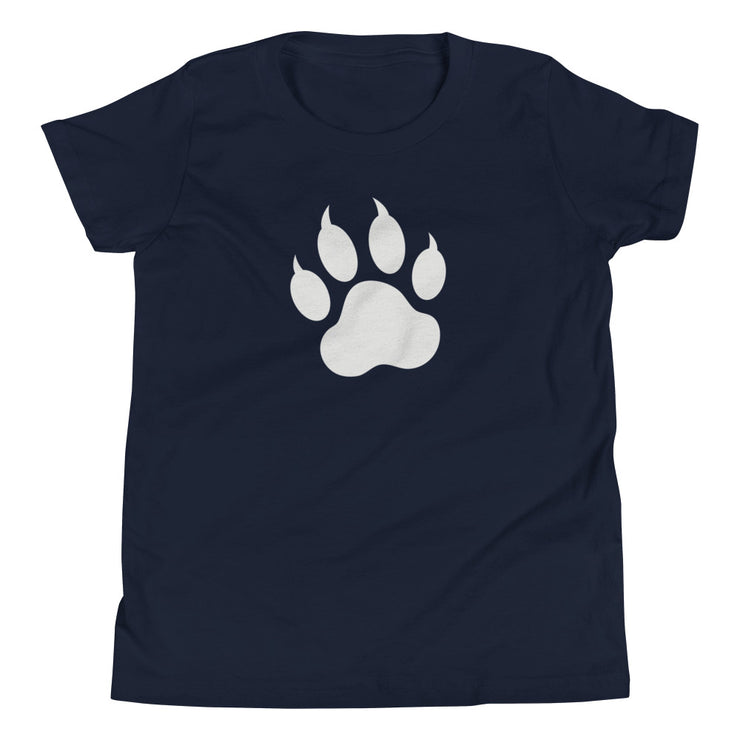 Paw Print Youth Short Sleeve T-Shirt