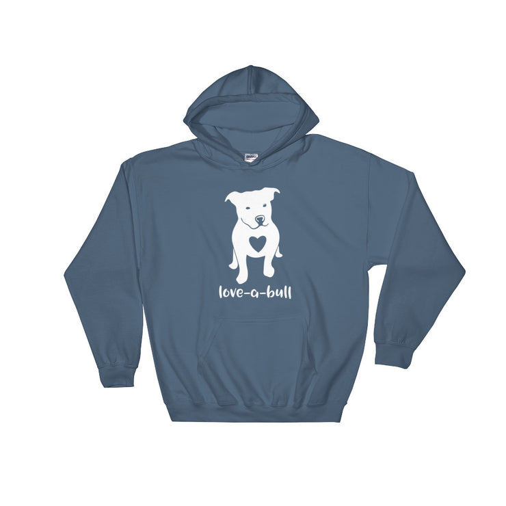 """Luv A Bull"" Hooded Sweatshirt - Multiple Colors"