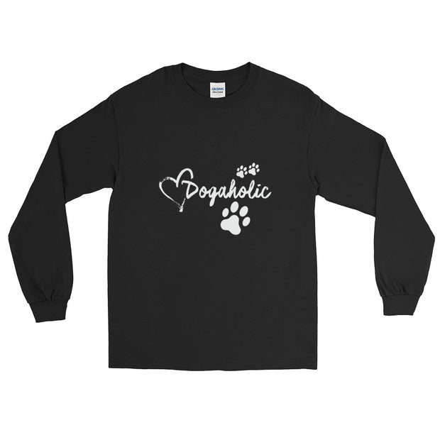 """Dog-A-Holic"" Long Sleeve T-Shirt"
