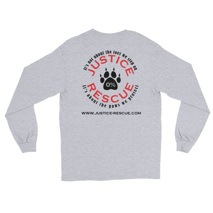 """Hug A Pug"" Long Sleeve Unisex T-Shirt"