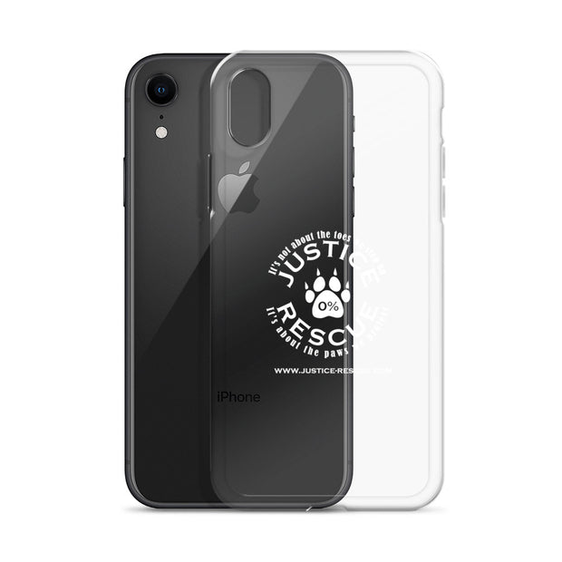 Justice Rescue iPhone X Case - Clear / White