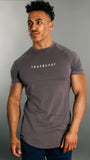 Rogue Muscle Fit T-shirt | Grey and White