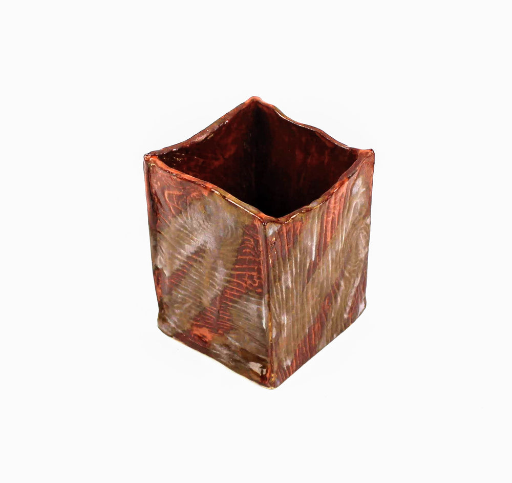 Faux Wood Container