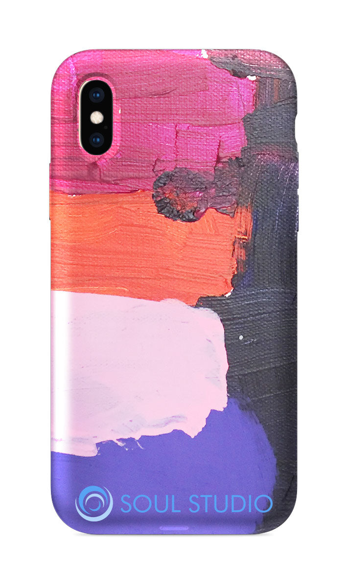 Corie Fauer Abstract Lines iPhone Case