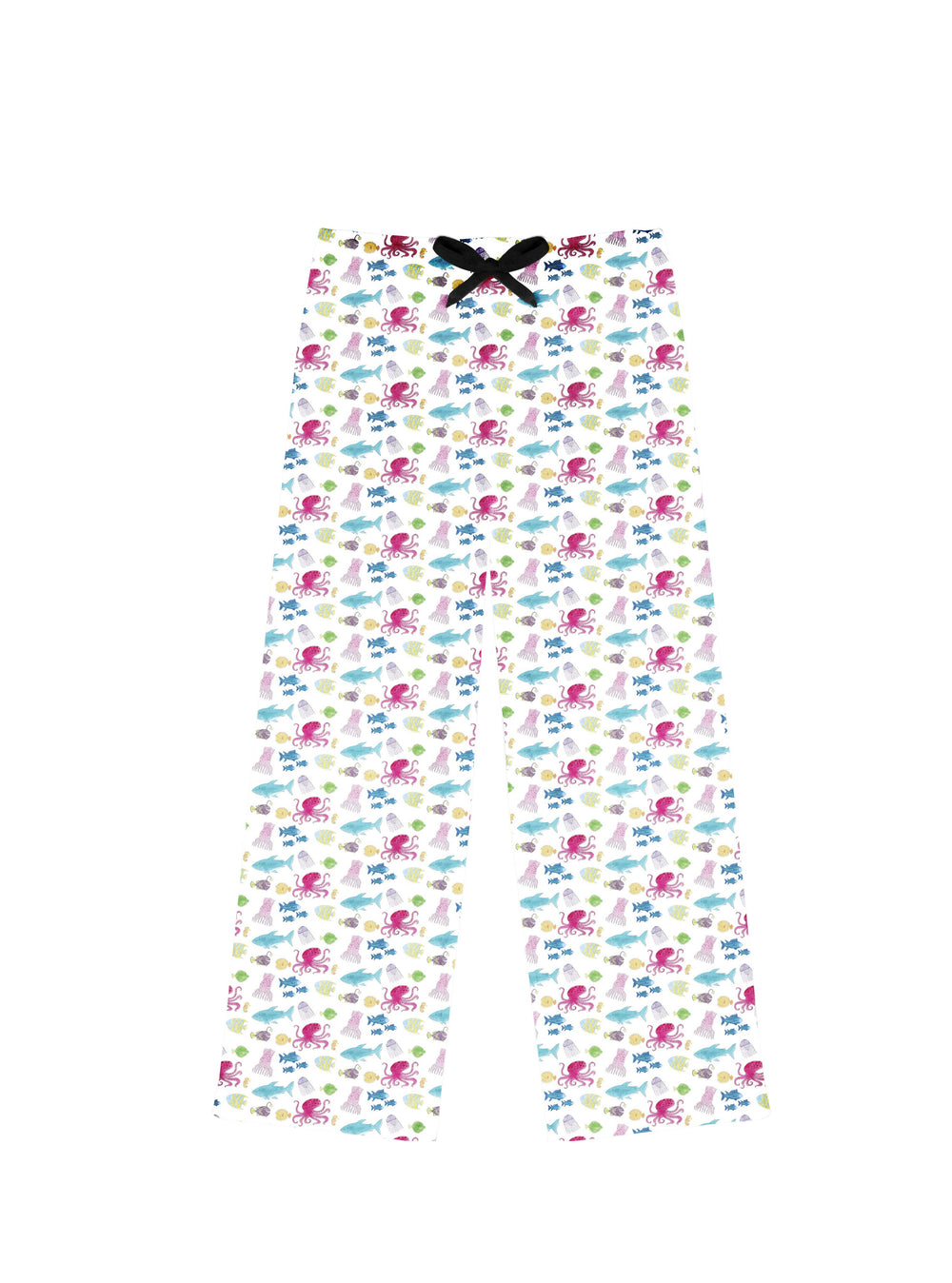 Womens Fish Undersea PJ Bottoms