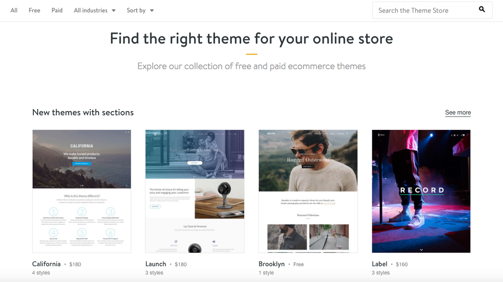 How To Build A Beautiful Website On Shopify The Shopify Stockroom - Shopify template editor