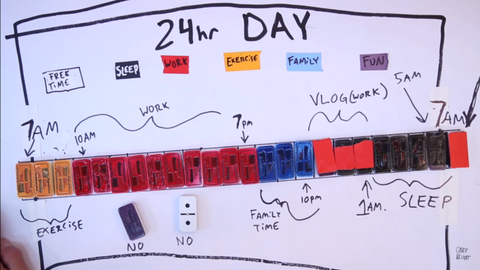 Casey Neistat Daily Schedule Vlog
