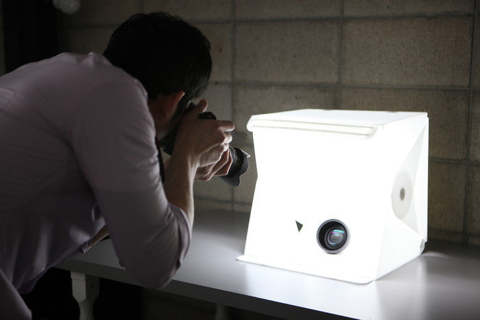 lightbox used for product photography