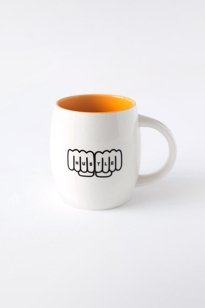 Fist Bump Coffee Mug