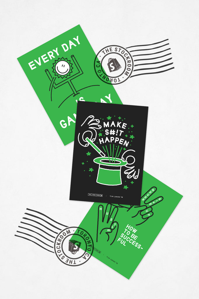 Make Sh*t Happen Postcard Collection (3 in 1)