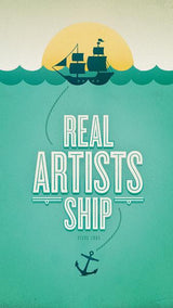 Real Artists Ship Wallpaper