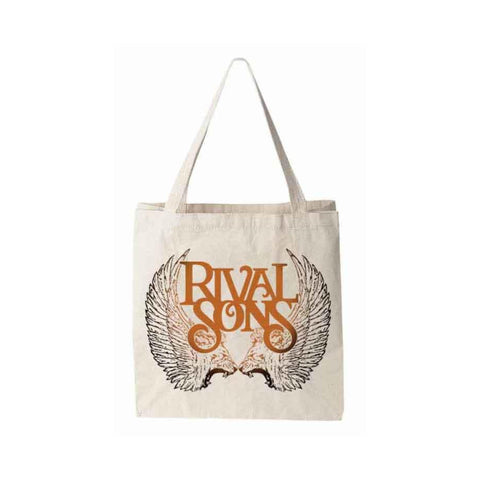 Insignia Sunburned Logo Tote