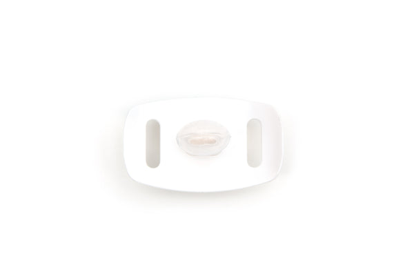 Little Guy Sport Mouthguard in White, Medical Grade Silicone