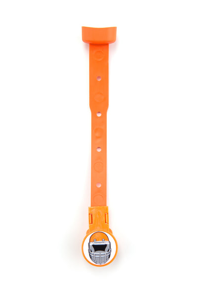 Cleveland Browns football product in Orange, Pacifier Soothie Strap