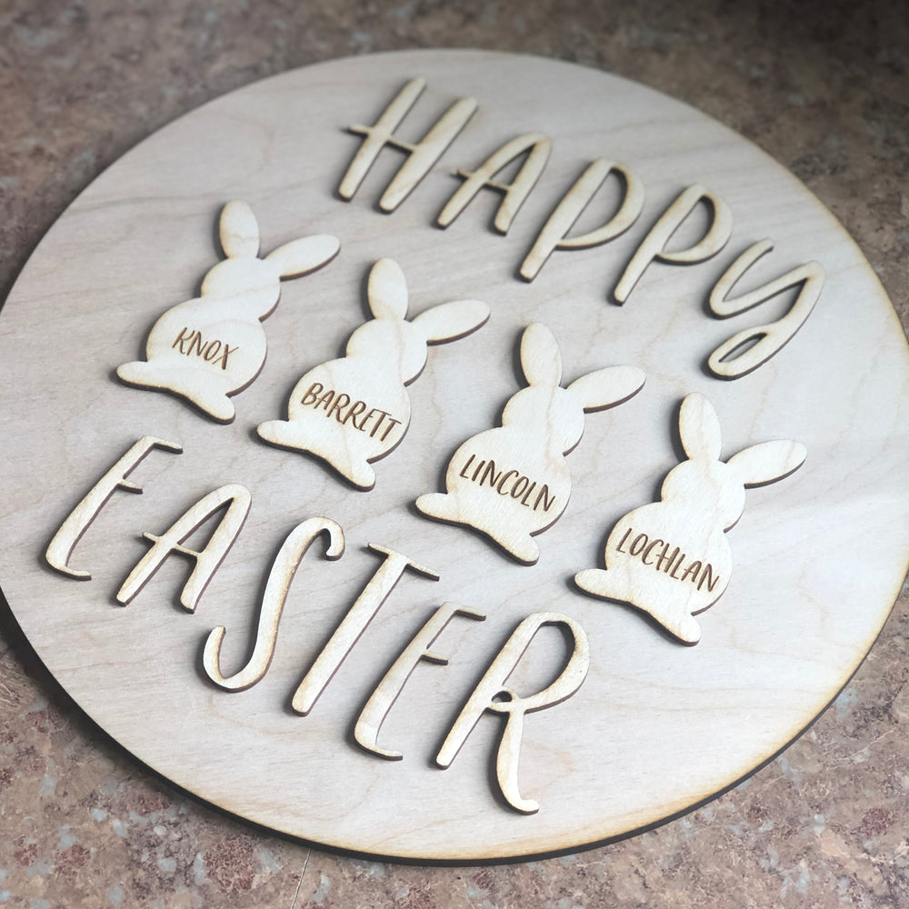 DIY Wood Sign Kit | Happy Easter