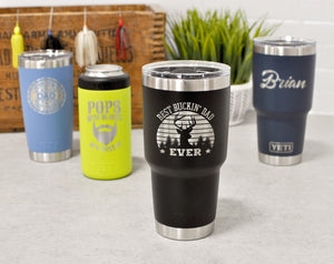Custom Engraved Yeti for Dad | Father's Day Gift