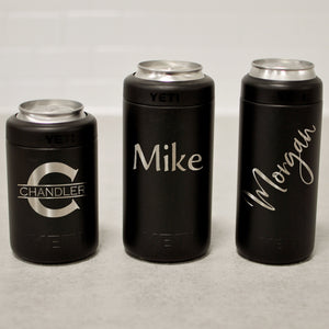 Custom Engraved Yeti Colster | Personalized Can Insulator