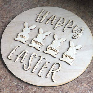 DIY Wood Sign Kit | Happy Easter - Intricut Creations