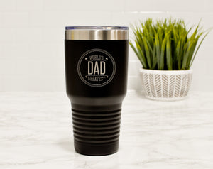 Engraved Tumbler for Dad | Gift for Father's Day - Intricut Creations